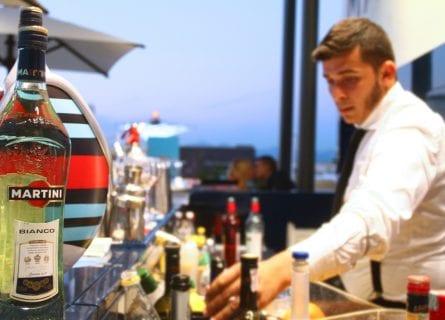 Martini bar in Milan