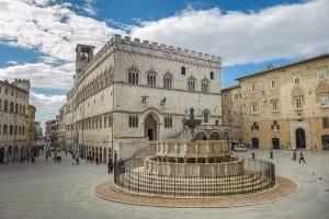 Fontana Maggiore on Piazza IV Novembre in Perugia