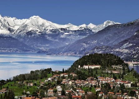 Lake Como in the winter-time