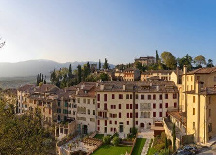 Beautiful Asolo in the heart of wine country