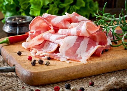 Smoked Speck, a local delicacy