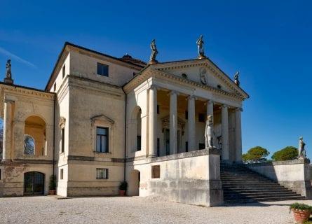Villa La Rotonda, designed by Andrea Palladio