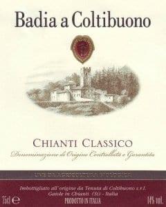 Badia a Coltibuono Winery, Chianti Classico