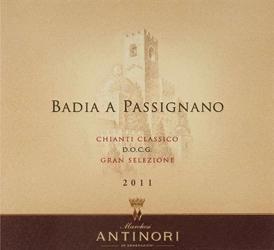 Badia a Passignano Winery, Chianti Classico
