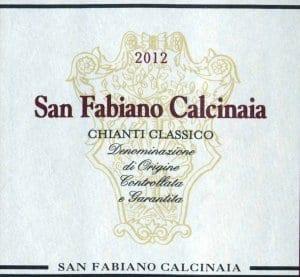 San Fabiano Calcinaia Winery, Chianti Classico