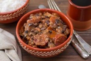 Feijoada, bean stew