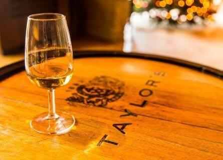 Port Wine tasting at historic lodge