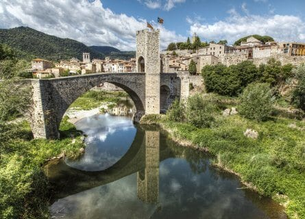 Besalu, a beautiful medieval town