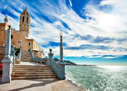 Charming Sitges by the sea
