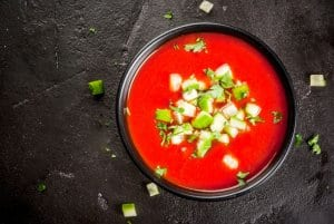 Gazpacho, cold soup