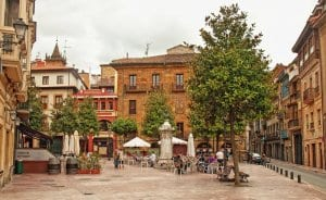 Oviedo old town