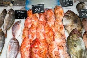 Seafood market, Palma
