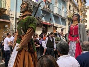 Gigantes de la Chantrea, festival
